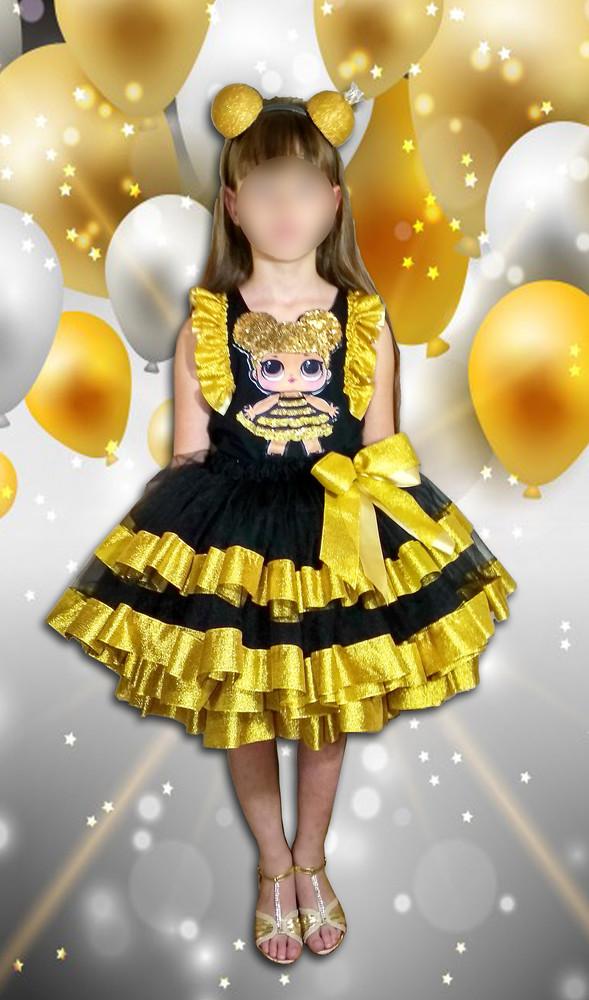 Костюм кукла лол королева пчела queen bee , лол дива, единорог фото №1