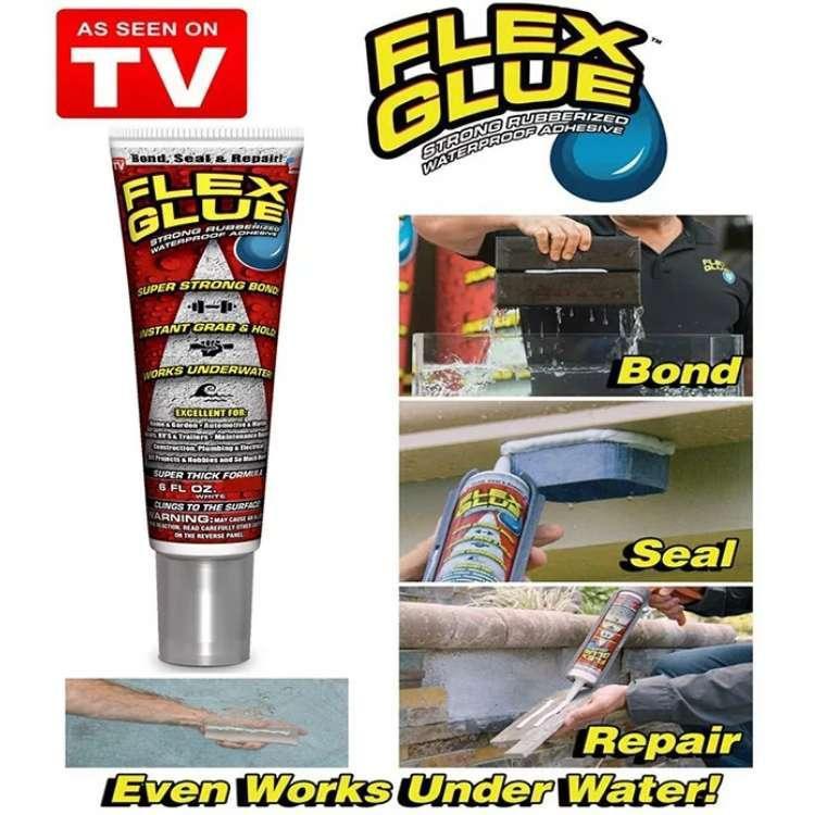Универсальный водонепроницаемый клей сильной фиксации flex glue фото №1