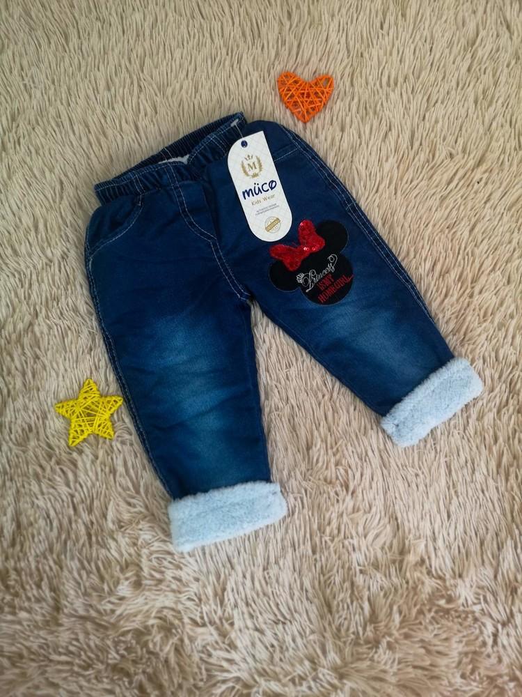 Теплые джинсики фото №1
