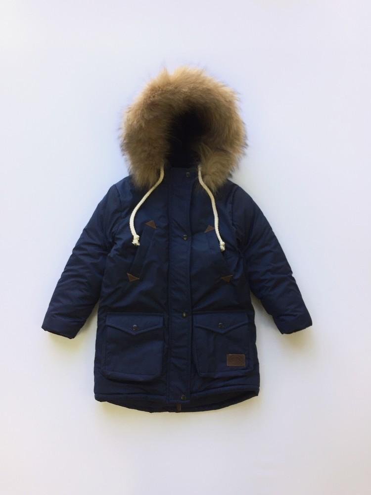 Детская зимняя куртка парка для мальчиков фото №1