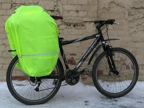 Дождевик vaude для велосумки фото №1