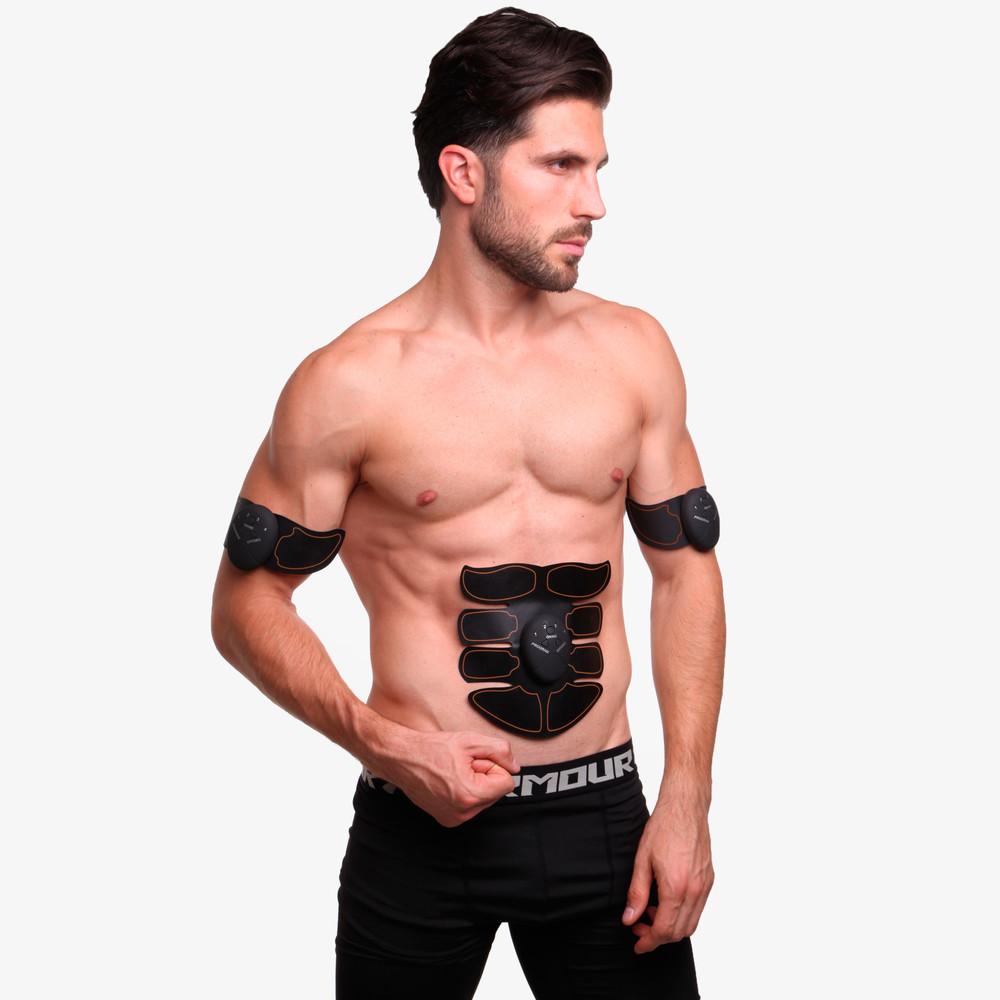 Миостимулятор для тренировки всех групп мышц smart fitness 0325: силикон, abs-пластик, металл фото №1