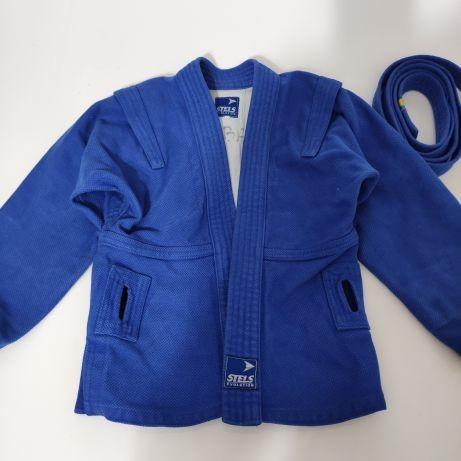 Куртка для самбо stels , самбовка на рост 140-145 см фото №1