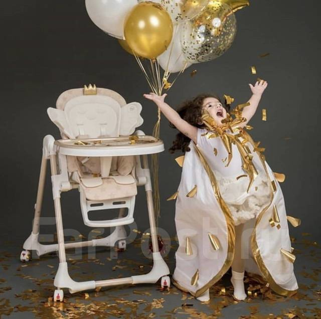 Новые! стульчики для кормления happy baby wingy фото №1