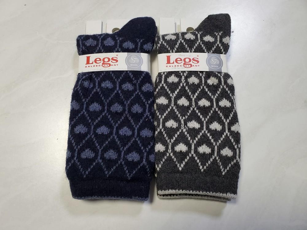 Шерстяные носочки legs фото №1