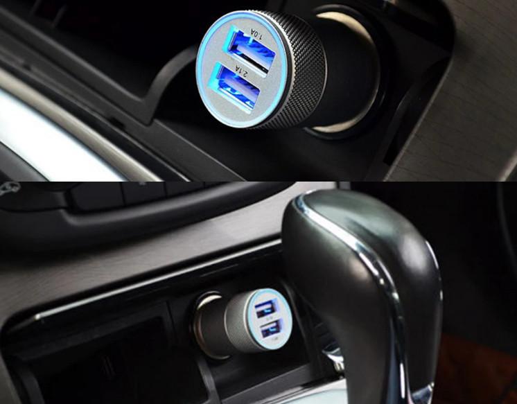 Автомобильное зарядное устройство usb фото №1