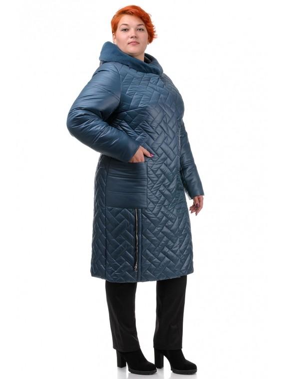 Пальто куртка 52-60 р-ры, длинная зима, от производителя! цвета, размеры: 52, 54, 56, 58, 60   фото №1