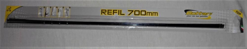 Сменная резинка стеклоочистителя bottari refill 700mm фото №1