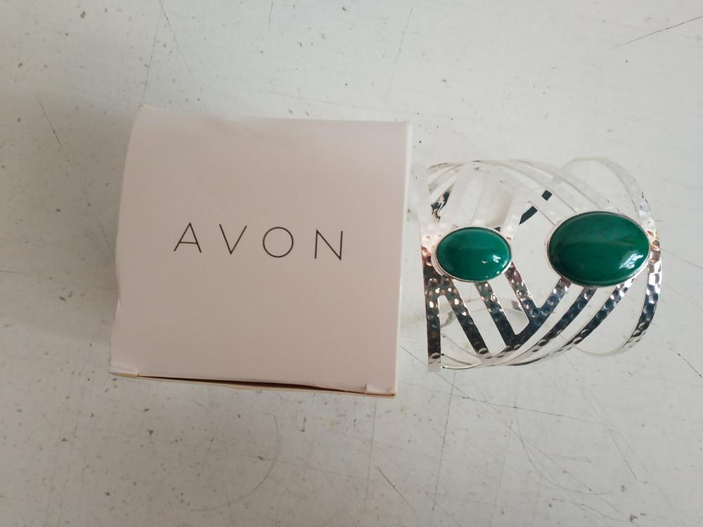 Женский браслет из метала американского бренда avon фото №1