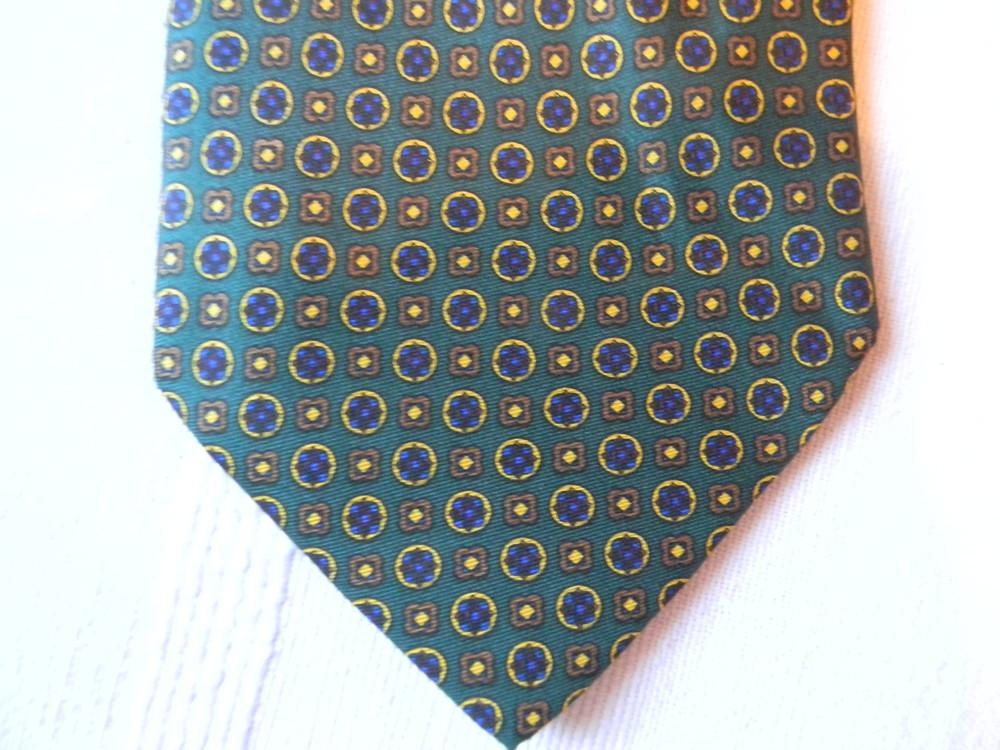 Мужской галстук 100% шелк di cori cesare made in italy фото №1