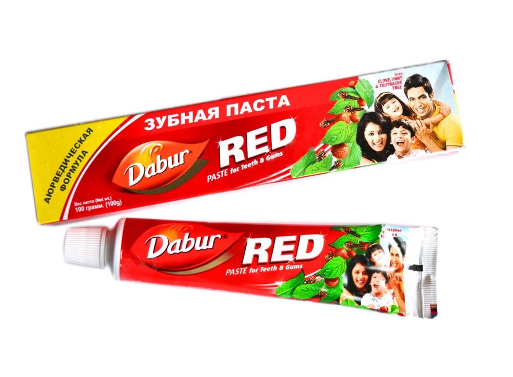 Зубная паста red , 100 гр фото №1