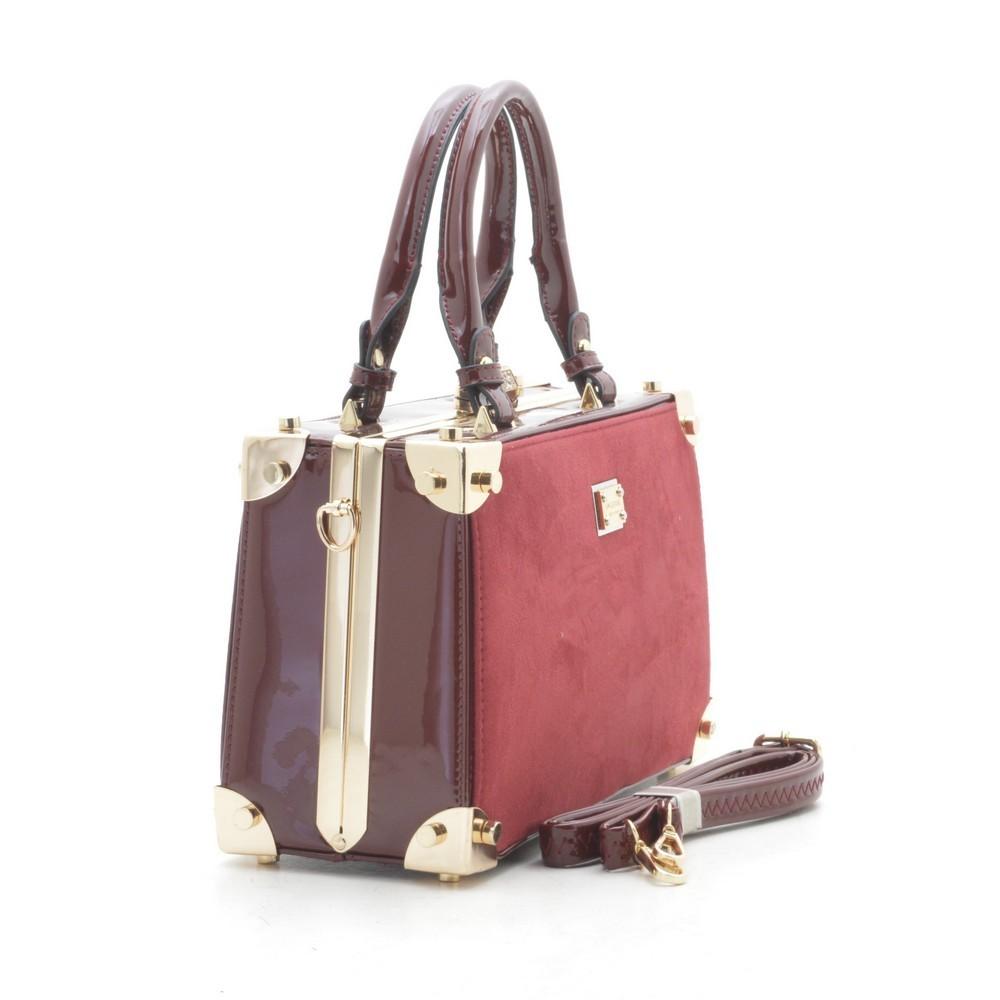 Женская каркасная сумка k-917 2 цвета фото №1