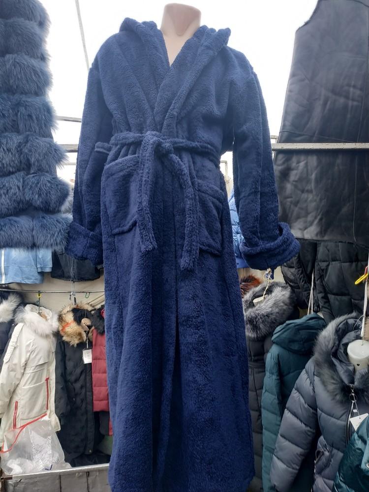 Халаты махровые мужские фото №1