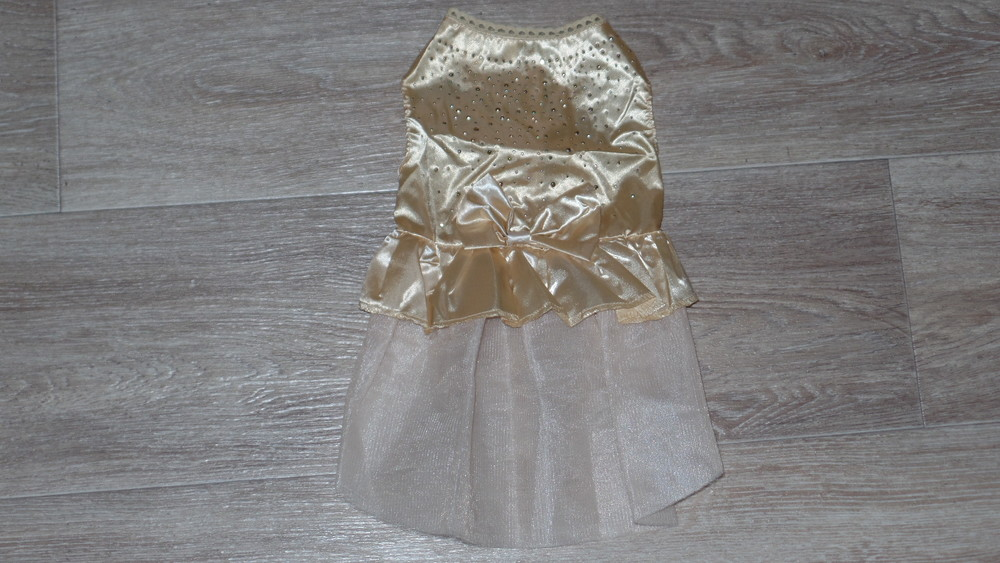 Нарядное платье для собачки р м фото №1