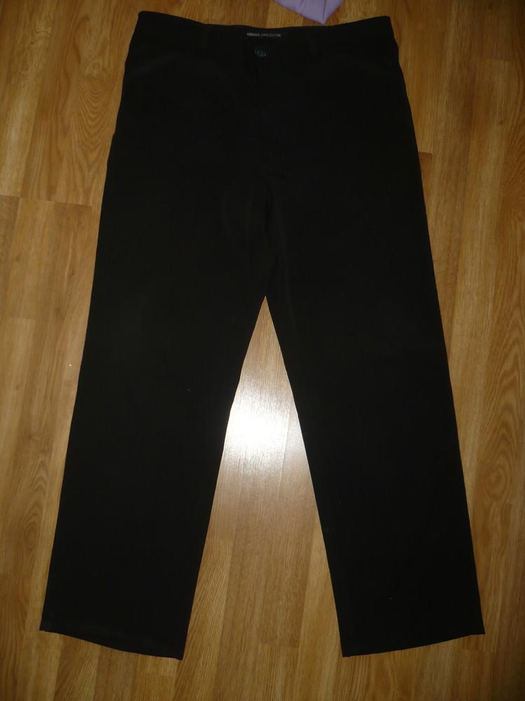 Штаны брюки черные мужские 48-50р. фото №1
