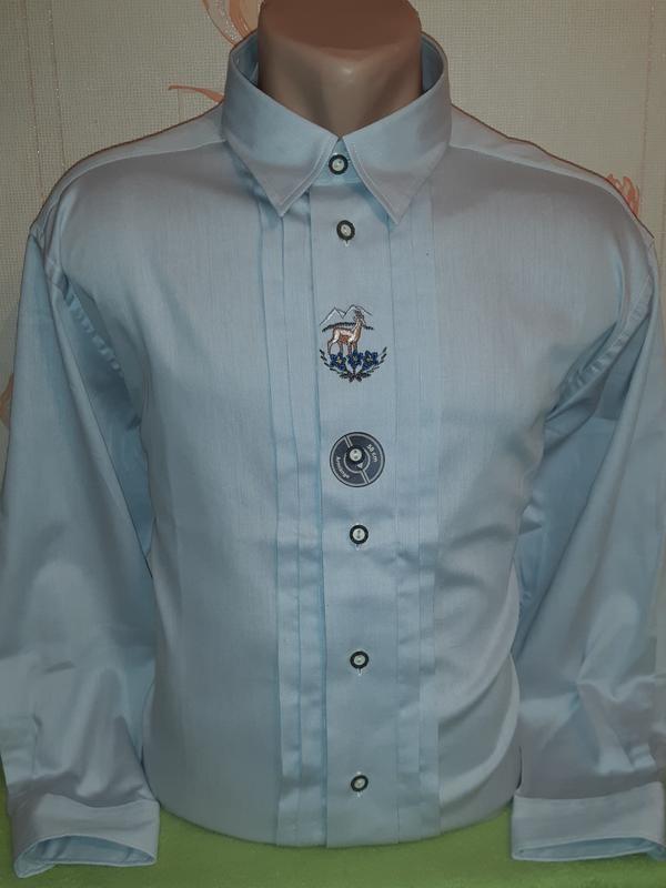Превосходная рубашка с вышивкой casa moda фото №1
