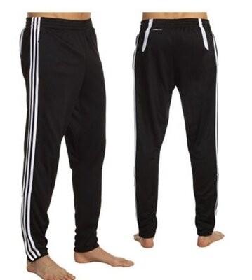 Спортивные тренеровочные штаны adidas men's tiro 11 pant, black/white р.48-50 l фото №1