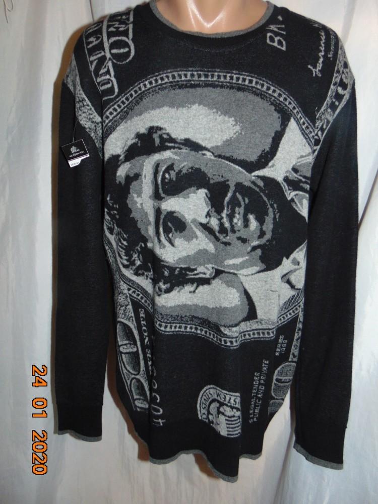 Новая брендовая оригинал стильная нарядная кофта свитр my brand .м-л . фото №1