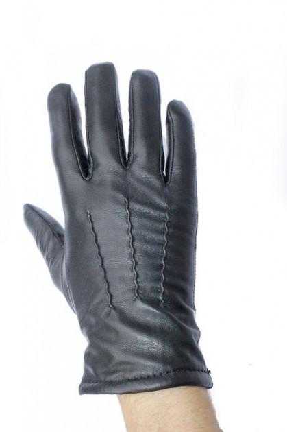 Мужские перчатки из кожи ягненка фото №1
