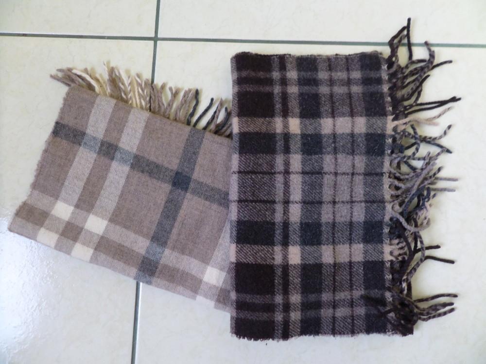 Теплі шерстяні шарфи фото №1