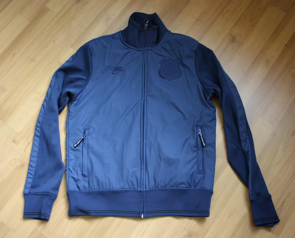 Легкая куртка кофта nike manchester united размер м оригинал фото №1