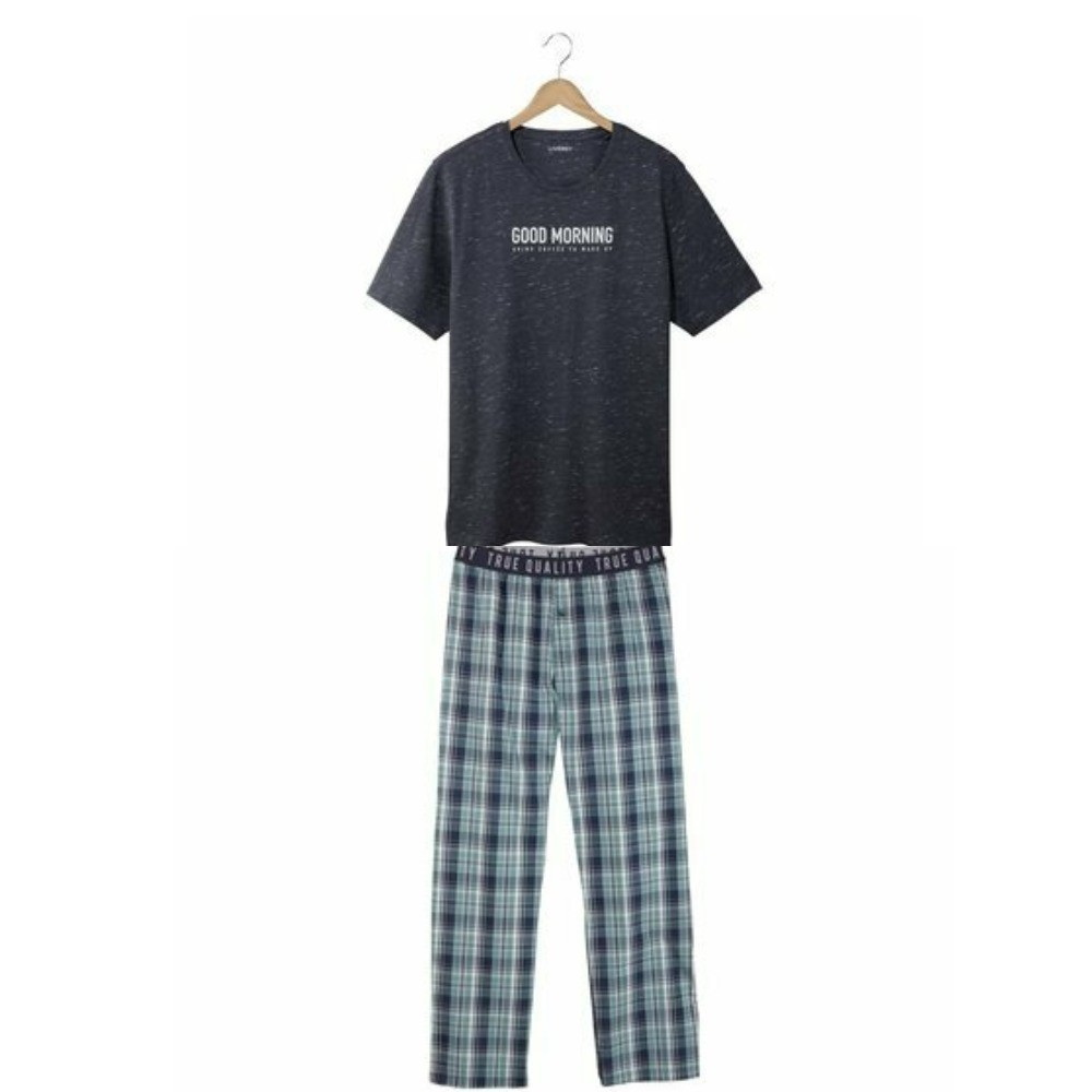 Мужская пижама домашний костюм livergy германия, футболка штаны фото №1