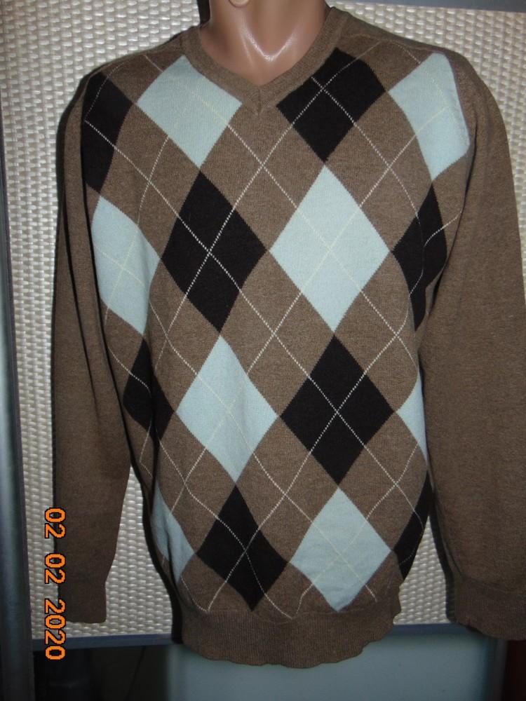 Стильная нарядная фирменная кофта свитр полувер шерсть бренд next некст .м . фото №1