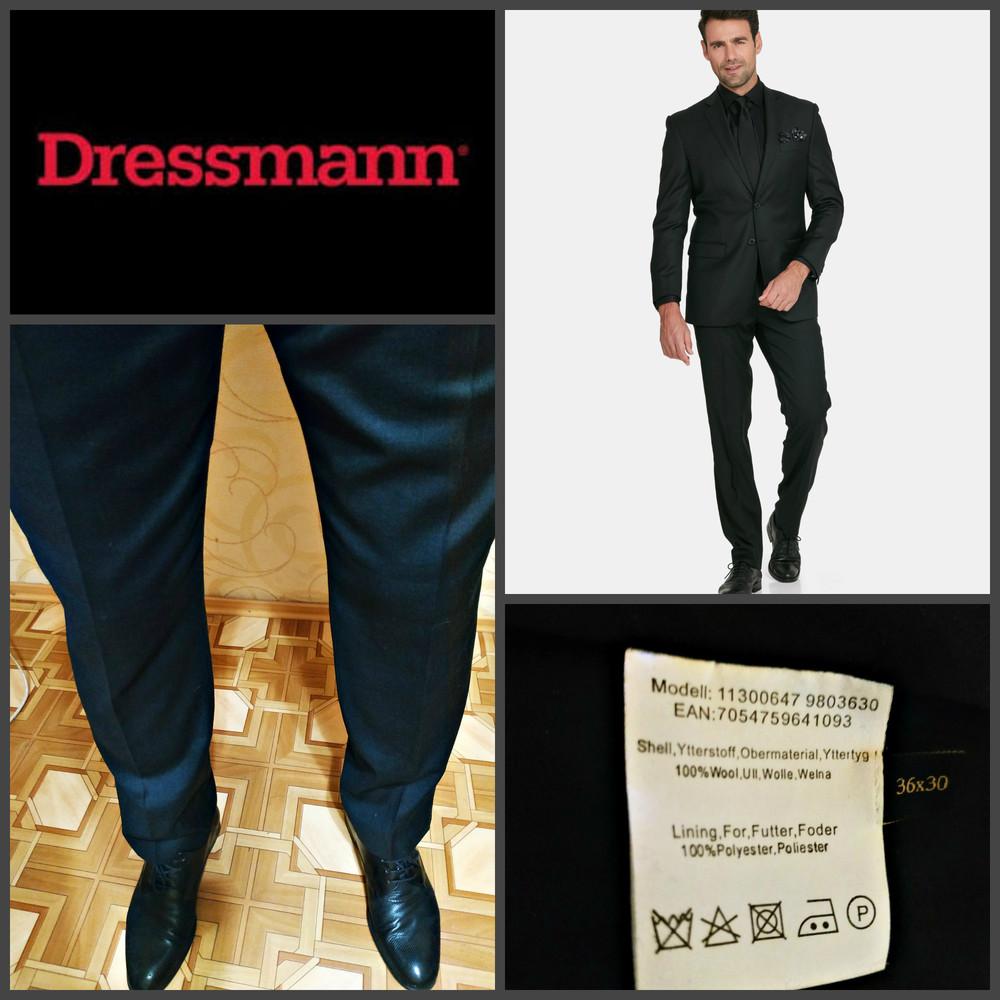 Невероятно крутые брюки высочайшего качества от dressmann (139$), оригинал фото №1
