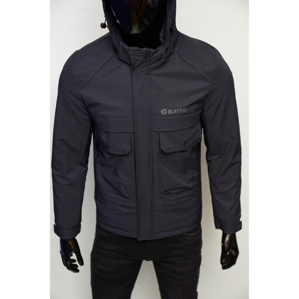 Куртка мужская демисезонная fr 9106-2 синяя фото №1