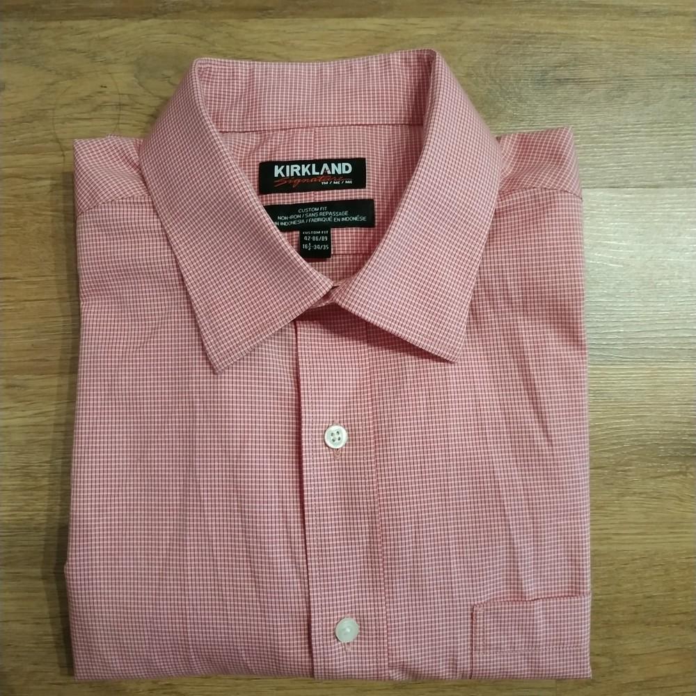 Рубашка новая без бумажных этикеток, размер 16 1/2 фото №1