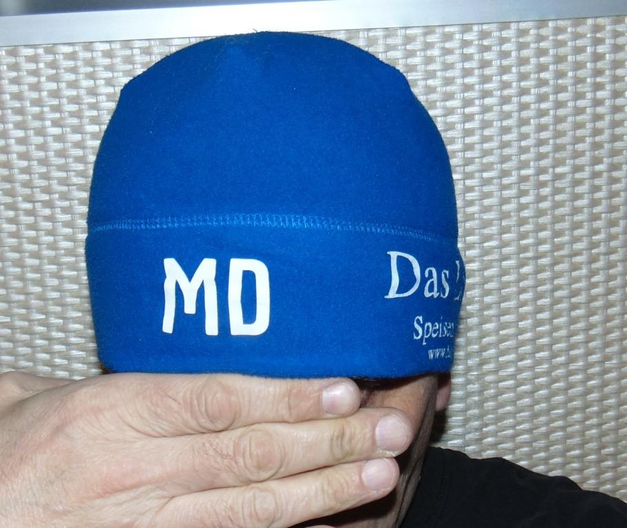 Флисовая фирменная спортивная шапка шапочка jako.м-л-хл . фото №1