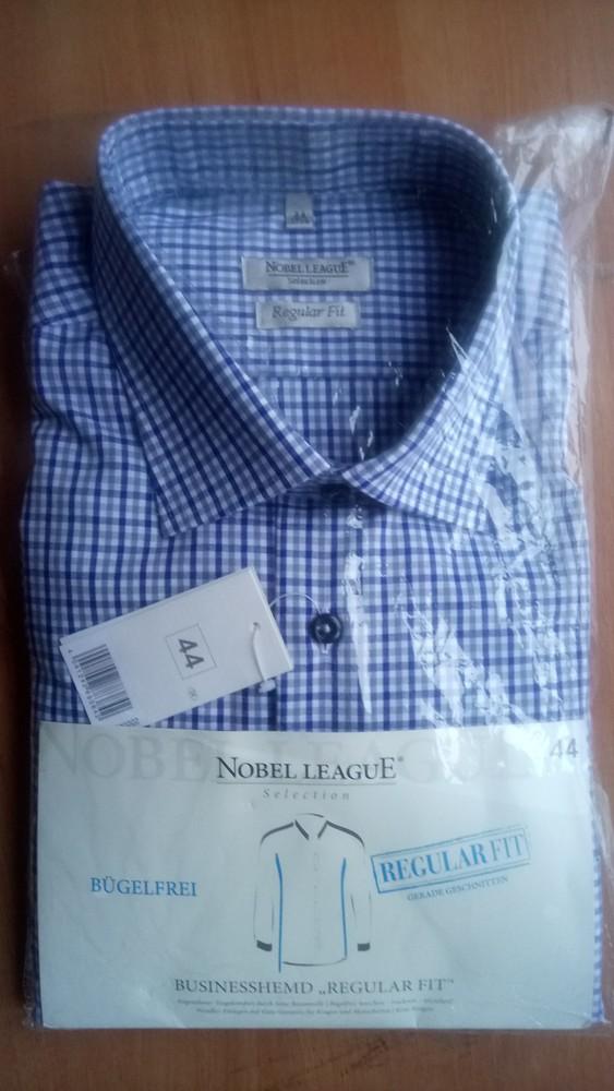 Рубашка мужская nobel league, 40, 44 на выбор фото №1