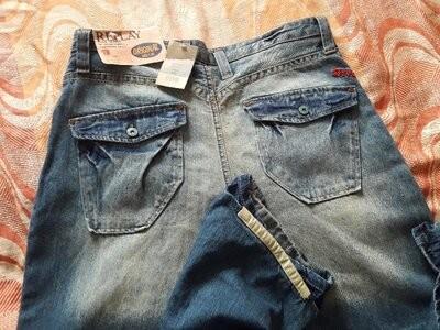 Фирменные новые джинсы replay w36l32 длина 113см. фото №1