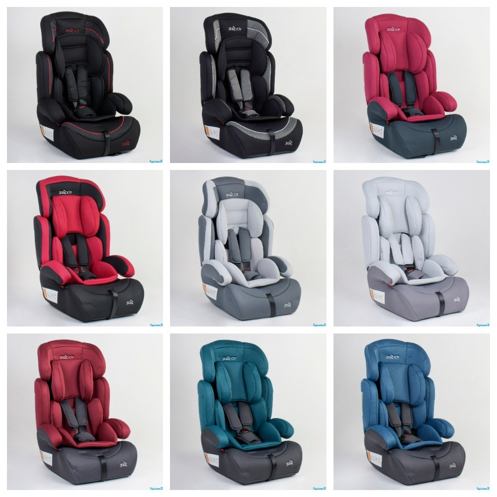 Детское автокресло joy 94926 универсальное, группа 1/2/3, вес ребенка от 9-36 кг фото №1