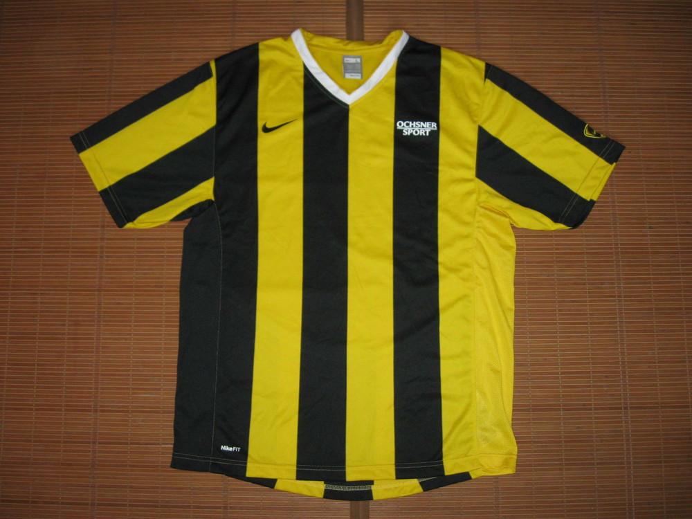 Nike fitdry (l) cпортивная футболка фото №1