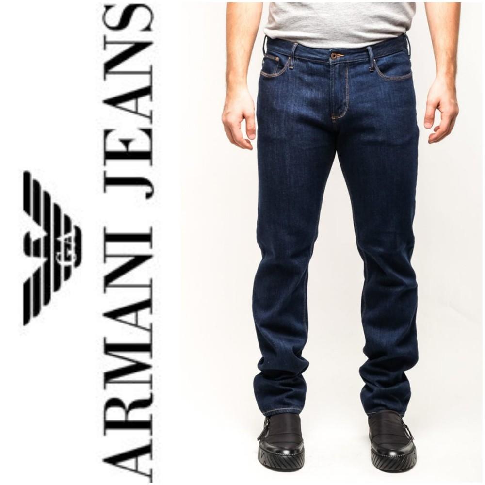 Мужские джинсы armani jeans.оригинал.w34 l34. фото №1