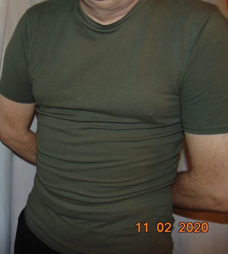 Стильная катоновая фирменная футболка милитари хаки бренд river island .л.м. фото №1