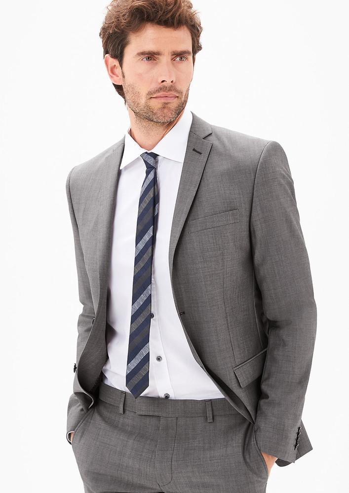 Шерстяной пиджак немецкого premium бренда s.oliver европа оригинал фото №1