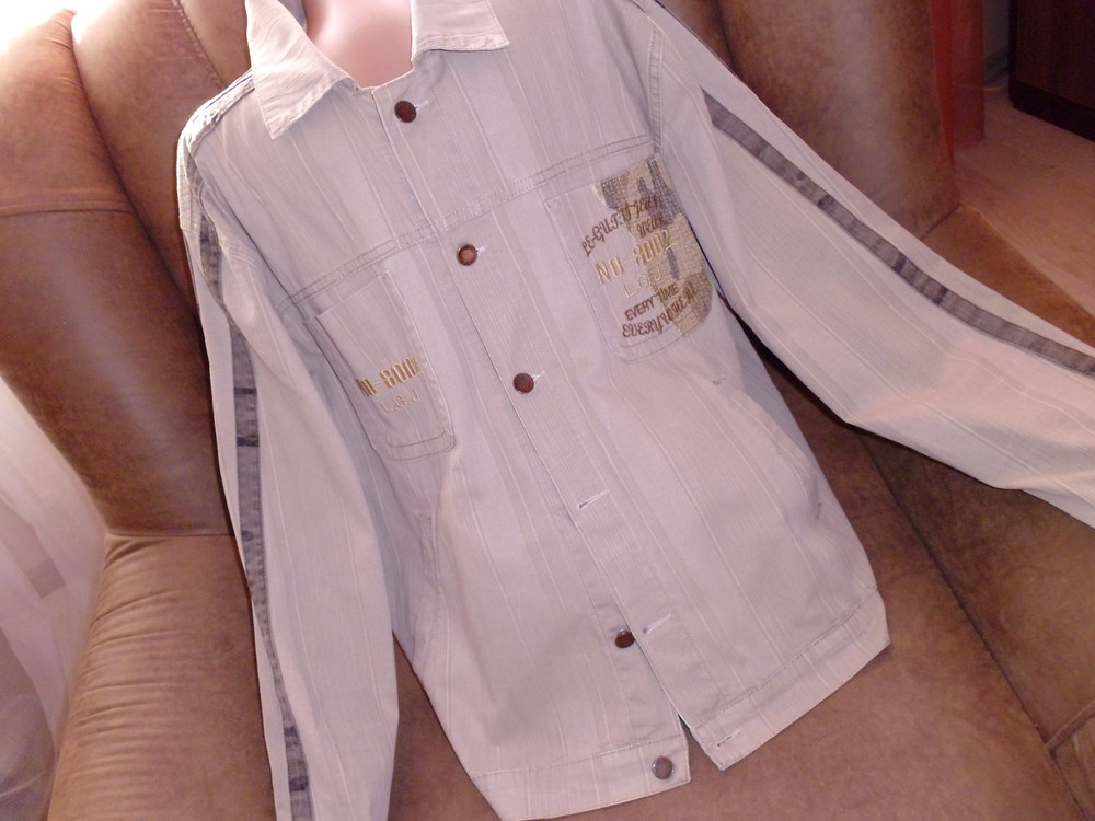 Le gutti куртка- рубашка рр xl хлопок фото №1