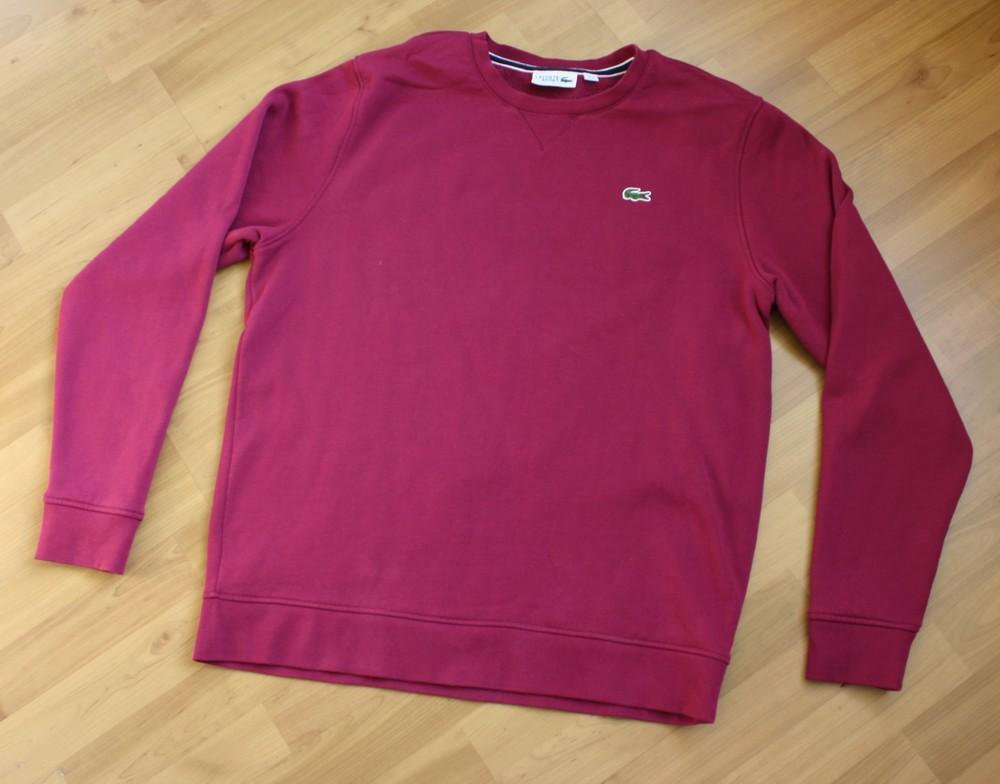 Мужской свитер lacoste sport утепленный размер xl оригинал фото №1
