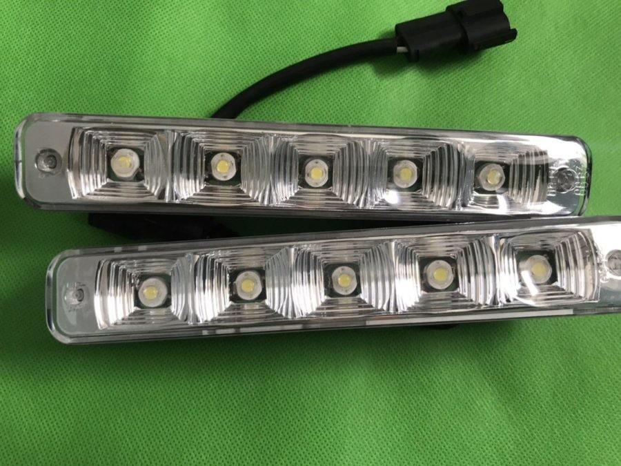 Дневные ходовые огни яркие для автомобиля d02-n фото №1