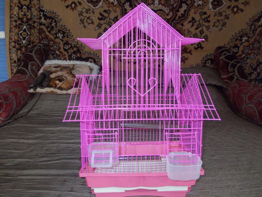 Гламурная клетка для вашей птички. фото №1