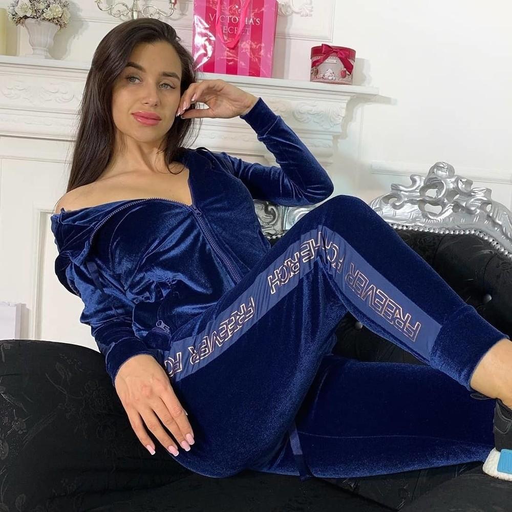 Акция!!! велюровый костюм женский freever по супер цене, 3 расцветки фото №1