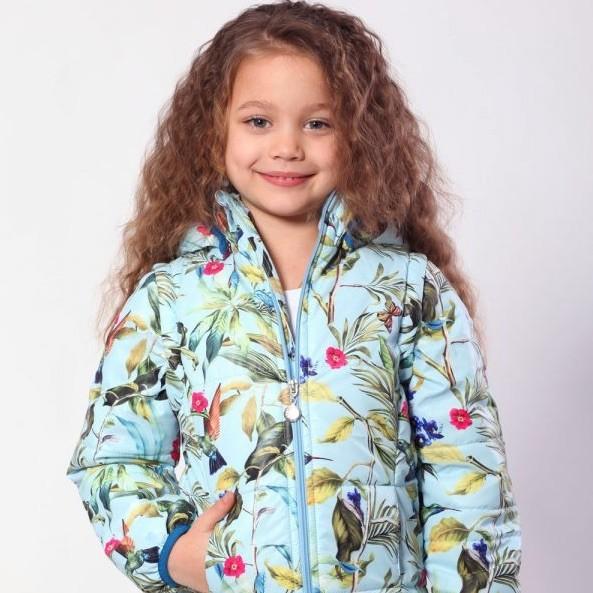 Куртка-жилетка для девочки коллекция курточка весна 2020 фото №1
