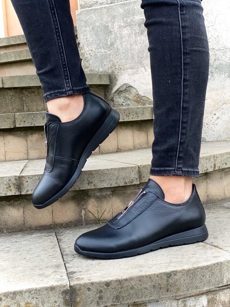 Шкіряні туфлі 36,37 фото №1