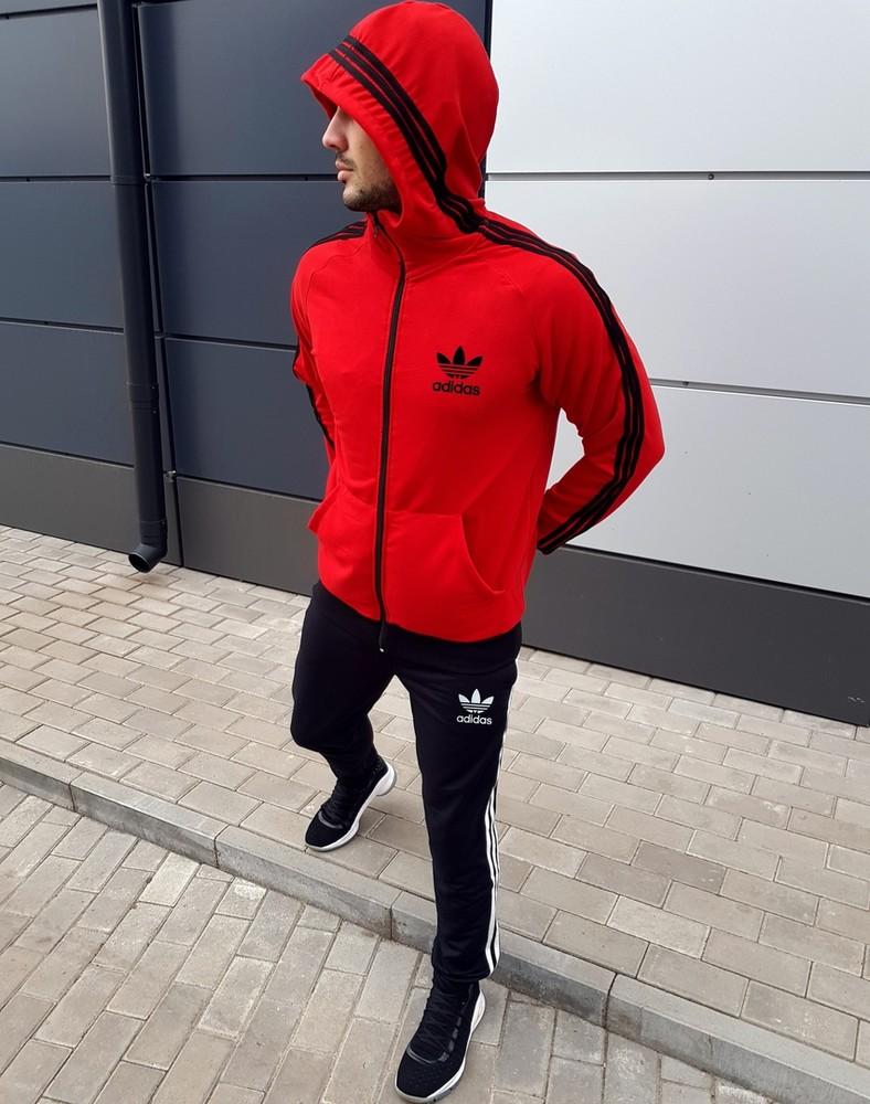 Костюм спортивный весенний adidas спортивный костюм адидас фото №1