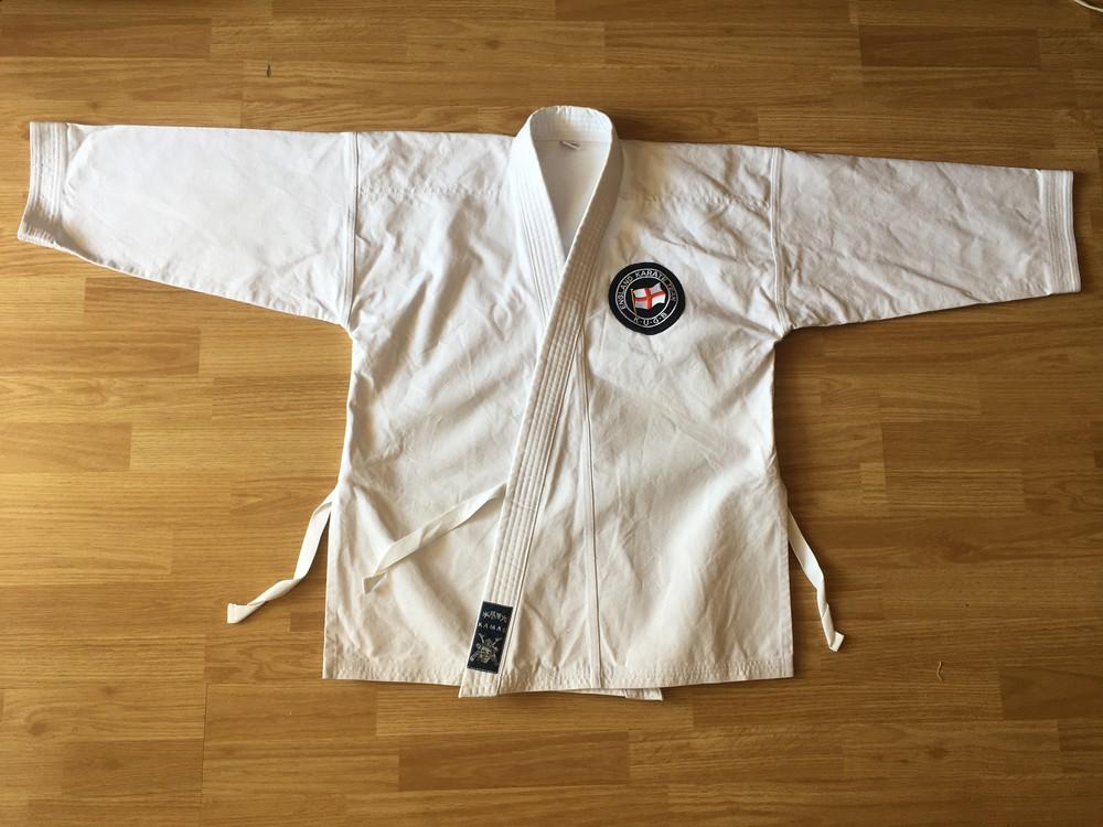 Кимоно кофта очень плотная,kamae,р.160,100%хлопок, №114 фото №1