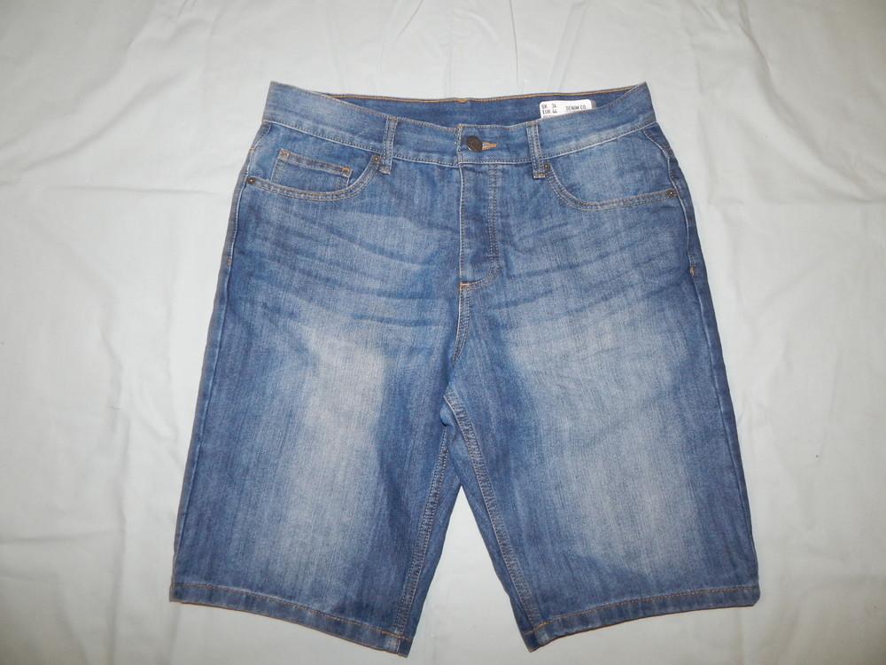 Denim co шорты джинсовые мужские модные рl р34 eur 44 regular фото №1