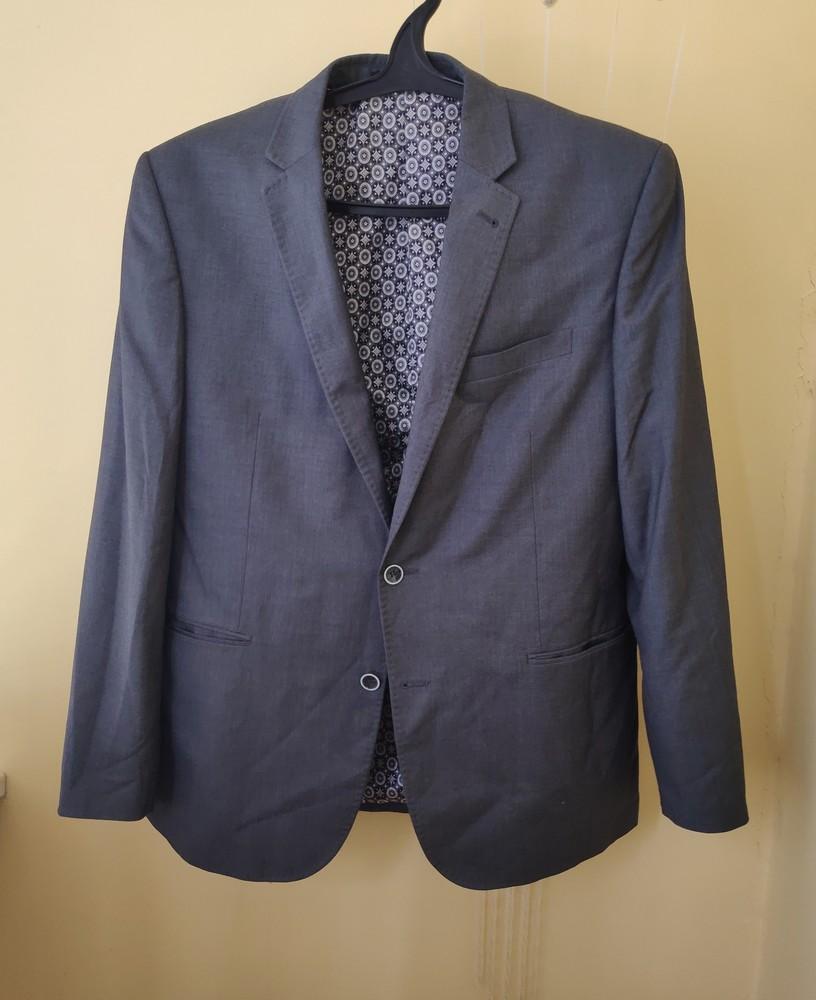 Итальянский пиджак зауженного кроя barsoi размер xl фото №1