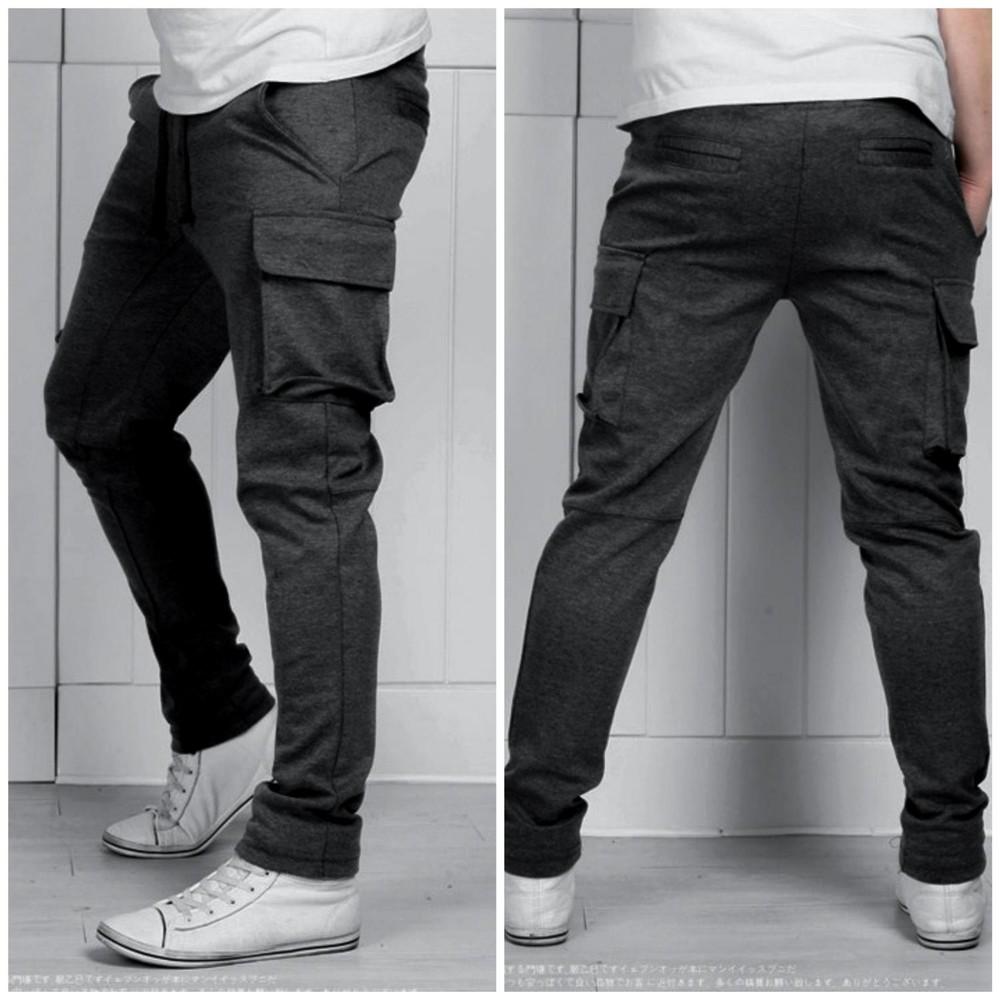 Спортивные штаны с карманами 1435 фото №1